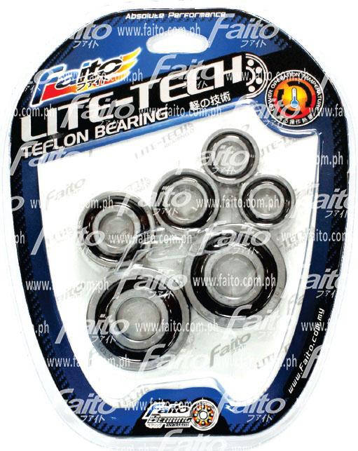 faito bearing. racing bearing set (honda wave 125 / xrm rs 125) faito n